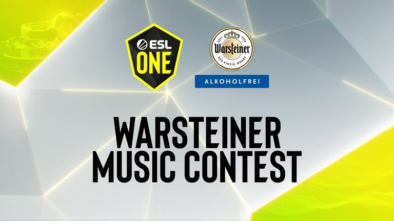 The ESL One Cologne 2020 Warsteiner Music Contest